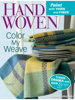 Handwoven Magazine May/June 2013 issue